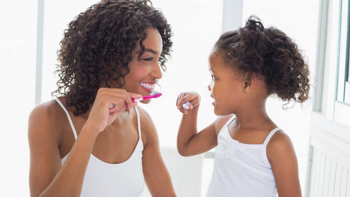 Toothbrushing fun