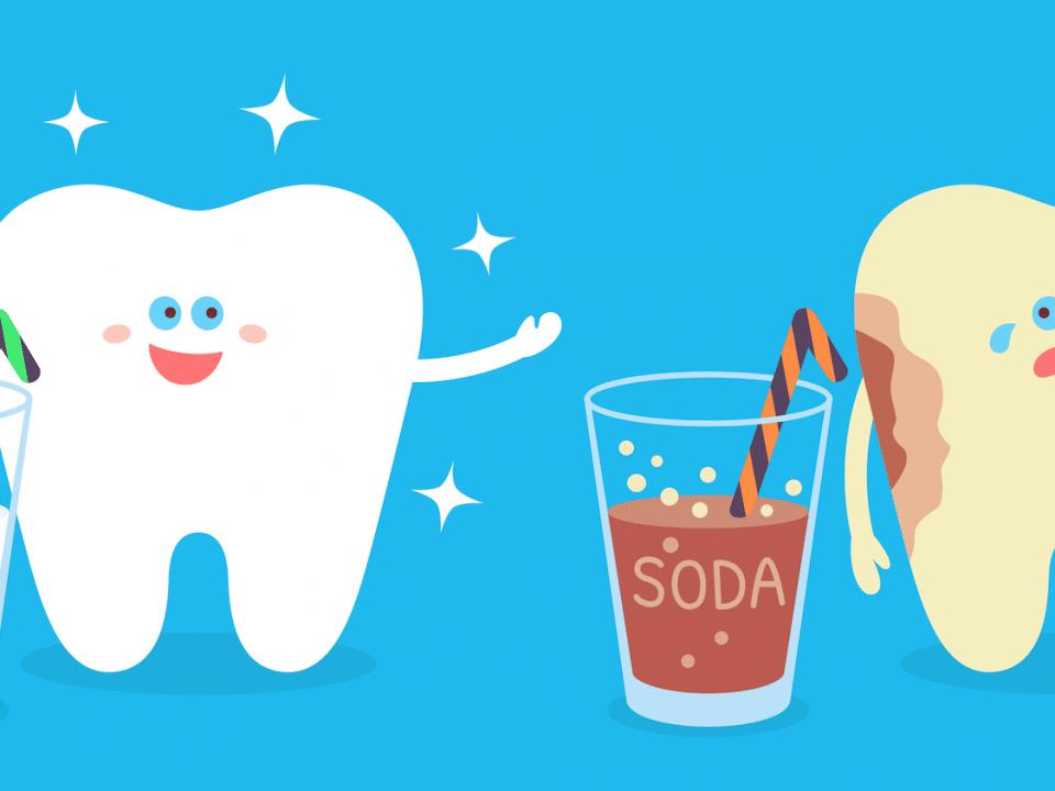 sugar and teeth