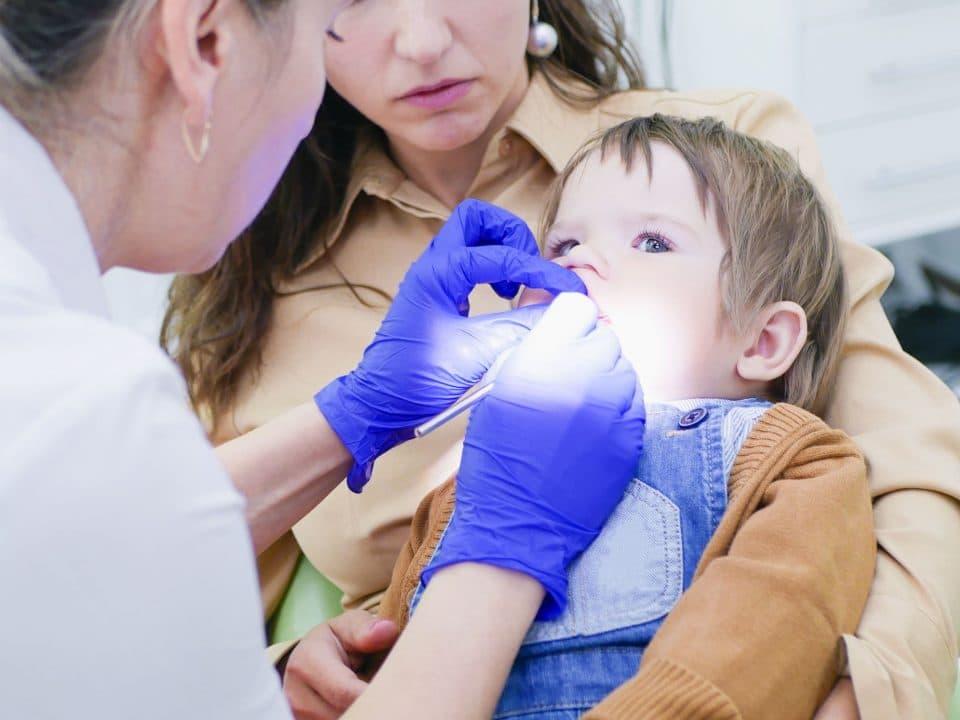 free infant dental exam
